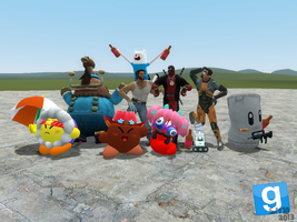 [GMOD] Random Group Picture by SuperMaster10