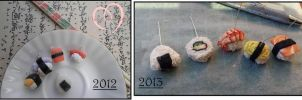 Clay improvement, a year later by ilikeshiniesfakery