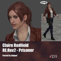 Claire Redfield RE:Rev2 Prisoner by Adngel