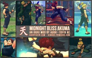 SSF4 AE Midnight Bliss Akuma by Augh