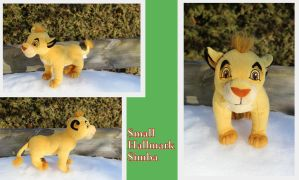 Small Hallmark Simba by Laurel-Lion