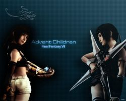 Final Fantasy VII: AC - Yuffie by Wolinpiotr
