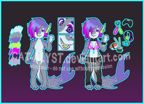 ADOPT: RAVER SHARK - CLOSED by CAT-ALYST