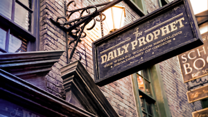 The Wizarding World of Harry Potter Diagon Alley by I-never-stop