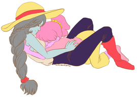 Bubbline Air-cuddles by mintmochiatto