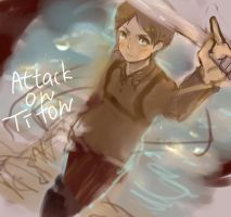 Attack on Titon by Chikao-j