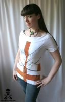 psychotic straitjacket top by smarmy-clothes