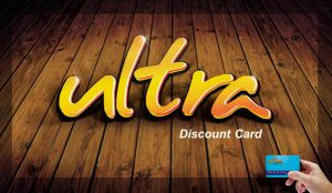 Ultra Discount Card Logo by mezoomar