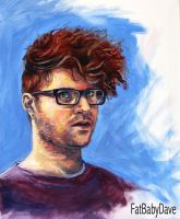 4-hour Self-Portrait | The Big Painting Challenge by FatBabyDave
