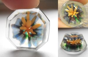 First lapidary test coldworking glass by fairyfrog
