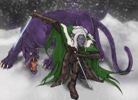 Drizzt by virgiliArt