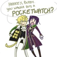 You wanna buy a POCKETWATCH? by Noodlearmcat