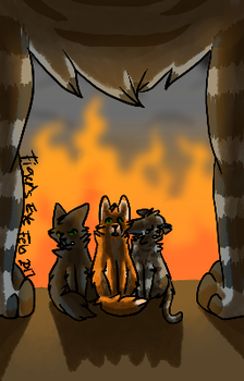 Warrior Cats Concept Art 1 by Tigerpool