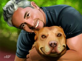 The Dog Whisperer by Queen-Uriel