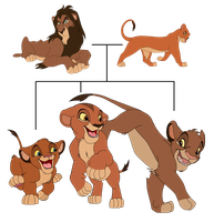 lions adoptables - CLOSE by letiza