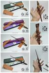 Handcrafted Wands 4-7 by albus119