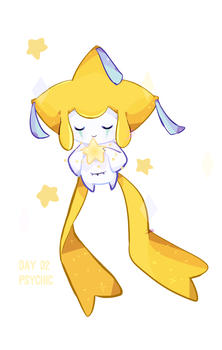 Day 02: Jirachi by BaekSkyward
