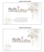 my business card by shushuwafflez