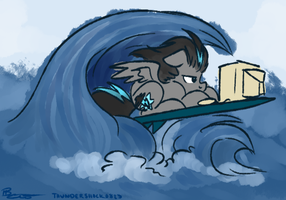 ATG: Round 2 - Day 25 - Surfin' the Net by ThunderShock0823