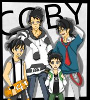 The 4 Different Coby's by aouyu