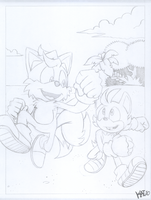WIP Comm Sketch - TA2 Page 4 by KaiThePhaux