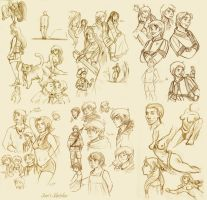 other series of skecthes by Sori-Chan