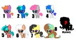 Chibi Adopts OPEN by SapphireStringsBases