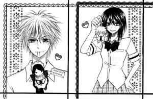 Usui and Misa with dolls by Lilith-Zer0