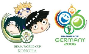 World cup logo-Naruto Version- by PledgeOfRoses