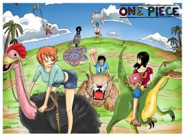 One Piece : Fun Racing by JERRYABISTADO