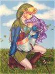 Commission: Link and Florina by Zellie669-commishes