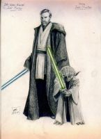 Obiwan - Yoda by muday1369