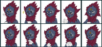 Commission - New Ven Emote Set by MiaMaha