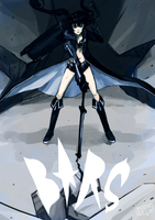 BLACK ROCK SHOOTER by MaximLardinois
