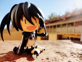 Welcome to My House - Black Rock Shooter by Odessa-Himijo