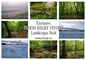 Flood Relief Exclusive Pack by lindowyn-stock