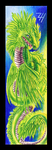 Feathered Serpent Bookmark by ZoeHildebrand-R