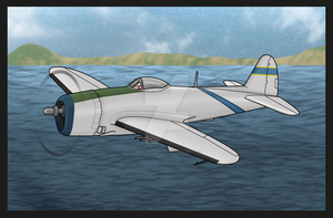Rogue: Rucker P-47D Thunderbolt by TheAngryFishbed