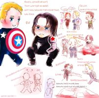 cut steve and bucky in english by WuLiao-Yuzi