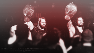 Seth Rollins with Roman Reigns by Naif1470