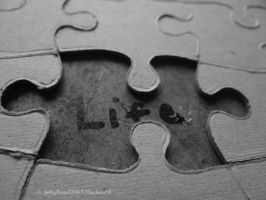 Life Is A Puzzle by jellybean12365
