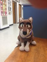 Balto at the Vets. by TwinTowergal