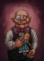 The Doll Collector. by Hungrysparrow