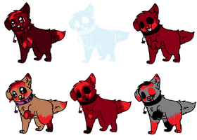 Dog Point Adopts -CLOSED- by ottolover101