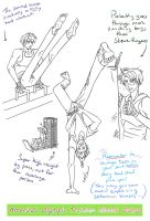 America's Olympic Work Out Sketch Dump by TheLostHype