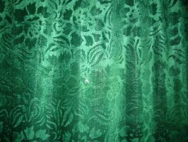 green fabric by allecca