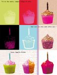 Pop Art Cupcake - larger res by Mishapen-Moon