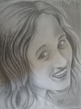 My Sisters portrait by DiptiArt