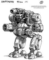 MechWarrior 4 Hauptmann Front by Mecha-Zone