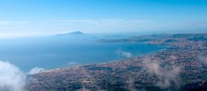 The Gulf of Naples by tehfusion